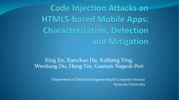 XDS: Cross-Device Scripting Attacks on Smartphones through