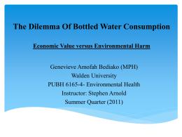 evolution of bottled water- 18th centrury