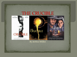 The Crucible Answers
