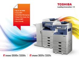 e-STUDIO2050c/2550c