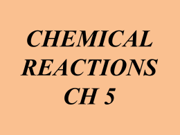 (the substances or molecules that participate in a chemical reaction).