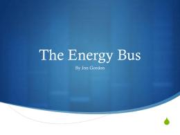 The Energy Bus – Carol Lensing
