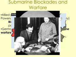 WWI part 1b