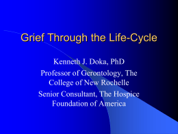 Grief Through the Life-Cycle - Mid