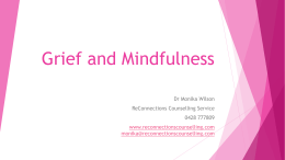 Grief and Mindfulness