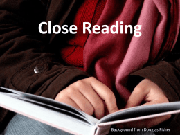 Close Reading PowerPoint