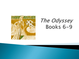The Odyssey Books 6-9