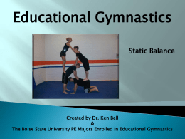 Educational Gymnastics