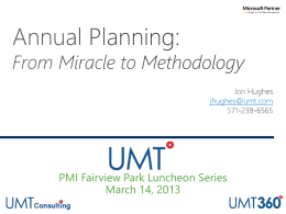 From Miracle to Methodology