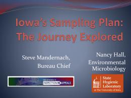 Nancy Hall, Public Health Microbiologist, State Hygienic