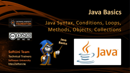 Java - SoftUni