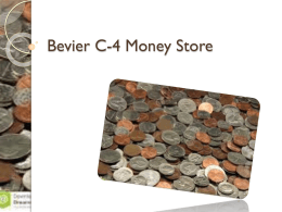 Bevier C-4 Money Store