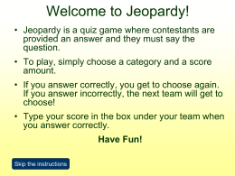 Jeopardy-Angela.ppt