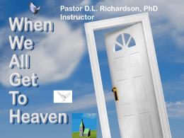 lationships in Heaven presentation