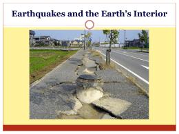 Earthquake Waves - Sonoma Valley High School
