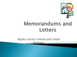 Memos and Letters - Wonderwoman