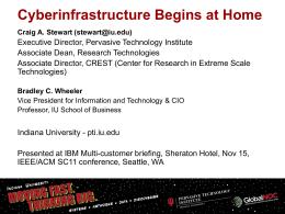 the presentation. - Rutgers Discovery Informatics Institute