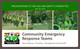 PowerPoint Presentation - Montgomery County, MD Community