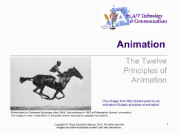 Principles of Animation