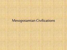 Mesopotamia Pwrpoint 2014