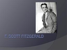 F. Scotts Fitzgerald