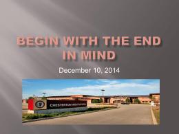 scheduling - Duneland School Corporation