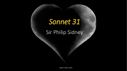 Sonnet 31 Sir Philip Sidney
