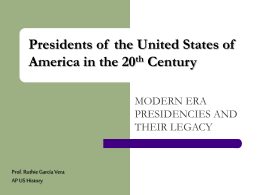 Presidents of the United States of America in the