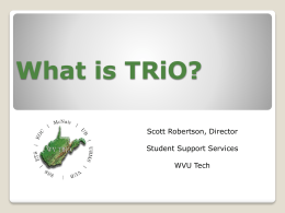 What is TRiO?