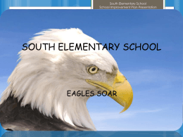 2015-16 South Elementary School Improvement Plan