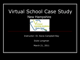Virtual School Case Study - Early Reading Intervention by Duke