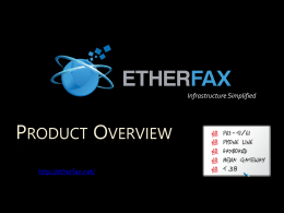 What is etherFAX