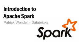 Developing with Apache Spark