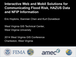 Hopkins_FloodTool_WebApp - West Virginia GIS Technical
