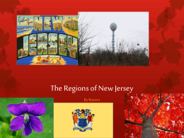 New Jersey Regions by Rianna - Pompton Lakes School District