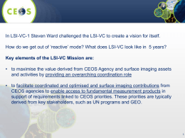 Long-term LSI-VC strategy and vision