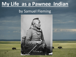 Pawnee tribe by Sam Fleming