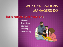 Introduction to Operations Management File