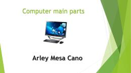 COMPUTER MAIN PARTS