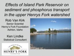powerpoint slides - Henry`s Fork Foundation