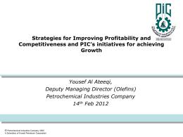 PIC Joint Ventures - Kuwait Petroleum Corporation