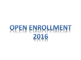 2016 Open Enrollment Slide Show - Paris R-II