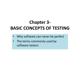 Chapter 3- Basic Concepts of Testing File