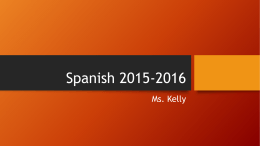 Spanish 2015-2016 - Campbell County Schools