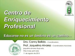 Centro de Enriquecimiento Profesional