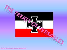 Treaty of Versailles (473KB PowerPoint)