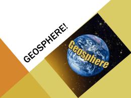 Geosphere!
