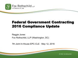 here - Fox Rothschild LLP