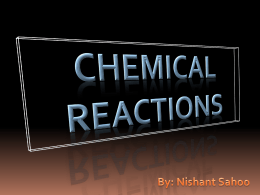 Chemical Reactions By