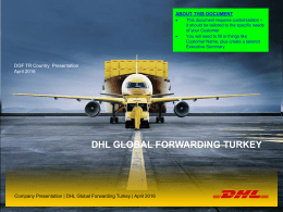 DHL Global Forwarding Turkey